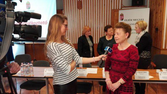 Dr. Varga Erika székesfehérvári járási tisztifőorvos