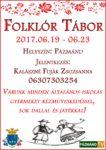 Folklór tábor @ Hét Forrás Művelődési Ház
