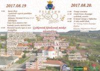 500 éves Pázmánd - augusztus 19-20-i ünnepség @ Iskola udvar