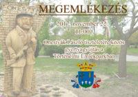 Gyertyagyújtás Onestyák László tiszteletére @ Történelmi Emlékpark