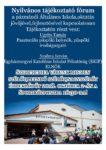 Tájékoztató fórum az iskolai oktatás jövőjéről @ Pázmándi Sportcsarnok